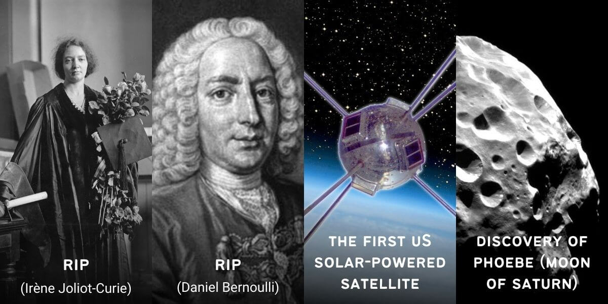 March 17 in Physics History: Birthdays, Deaths & Discoveries