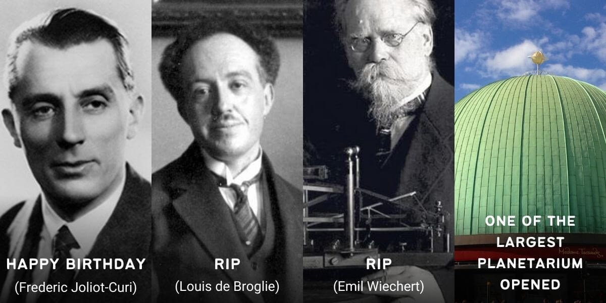 March 19 in Physics History: Birthdays, Deaths & Discoveries