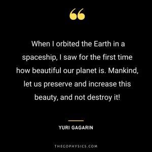 Yuri Gagarin Quotes