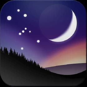Stellarium App Icon (Best Stargazing Apps)