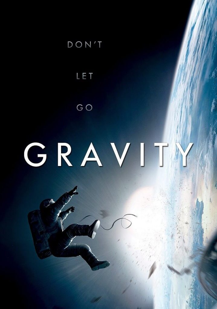 Gravity (2013) Movie Poster ((Best Space Movies))