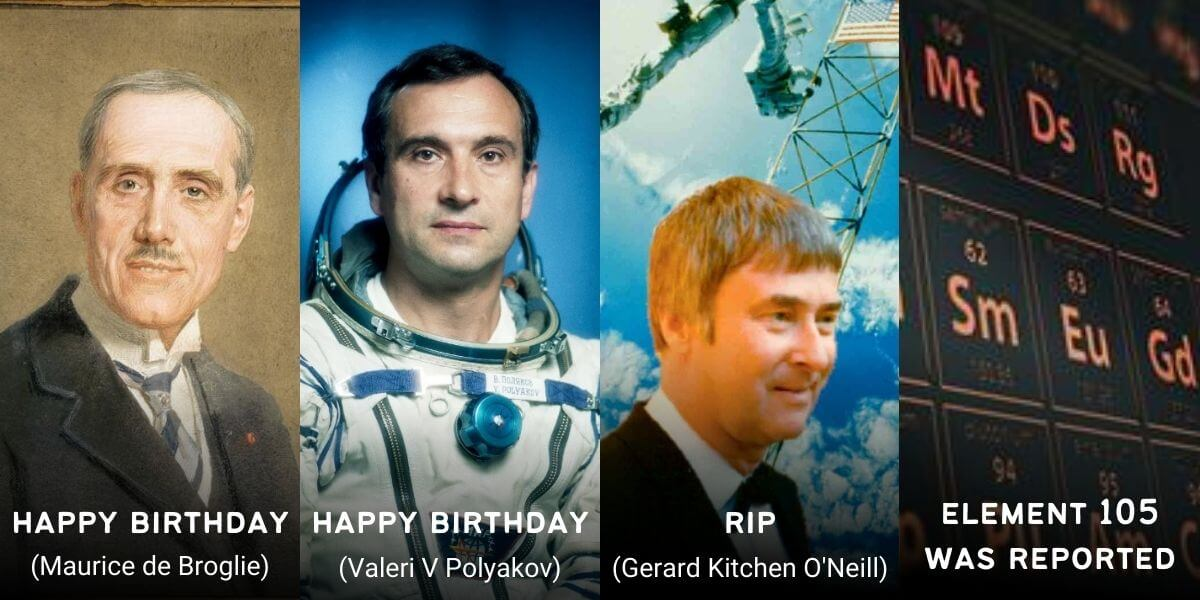 April 27 in Physics History: Birthdays, Deaths & Discoveries
