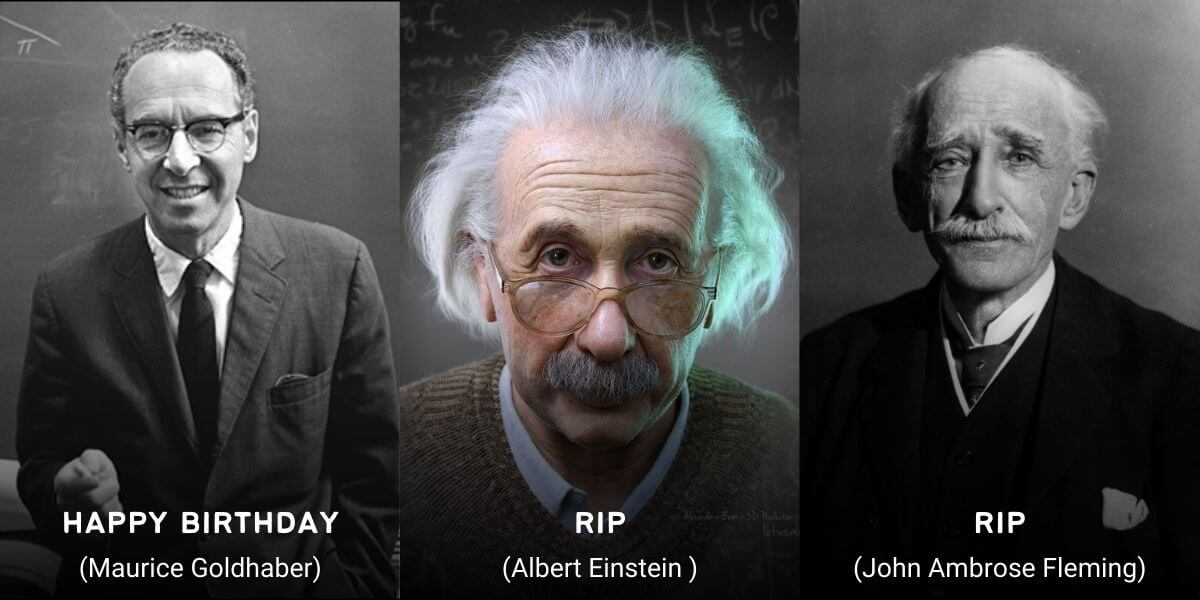 April 18 in Physics History: Birthdays, Deaths & Discoveries