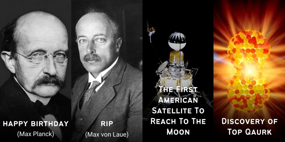 April 23 in Physics History: Birthdays, Deaths & Discoveries