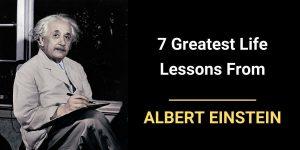 Life Lessons from Albert Einstein