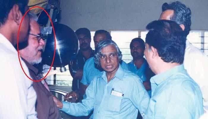 Nambi Narayanan With Dr. APJ Abdul Kalam