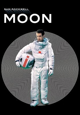 Moon (2009) Movie Poster ((Best Space Movies))