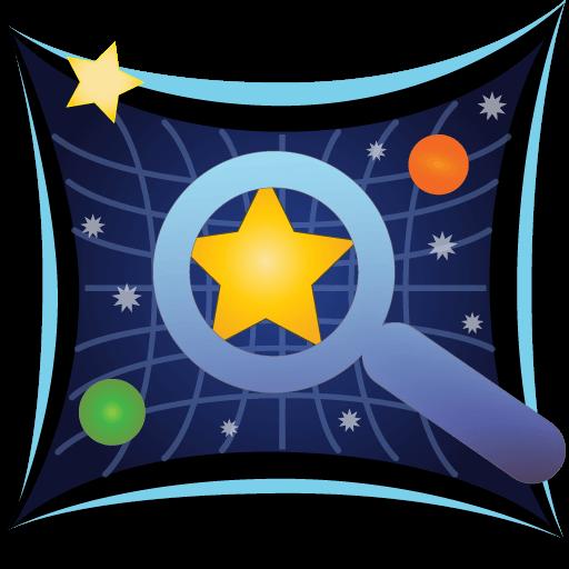 Sky Map App Logo (Best Stargazing Apps)