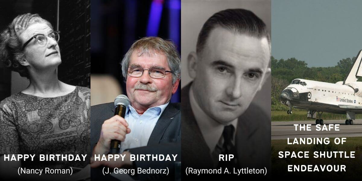 May 16 in Physics History: Birthdays, Deaths & Discoveries