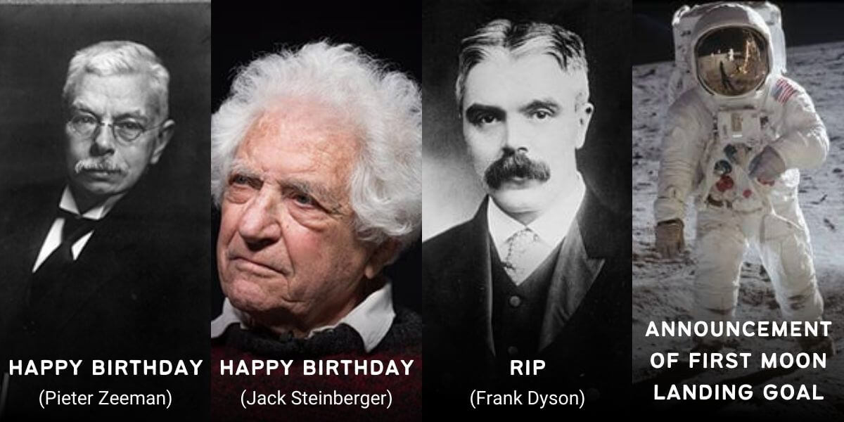 May 25 in Physics History: Birthdays, Deaths & Discoveries