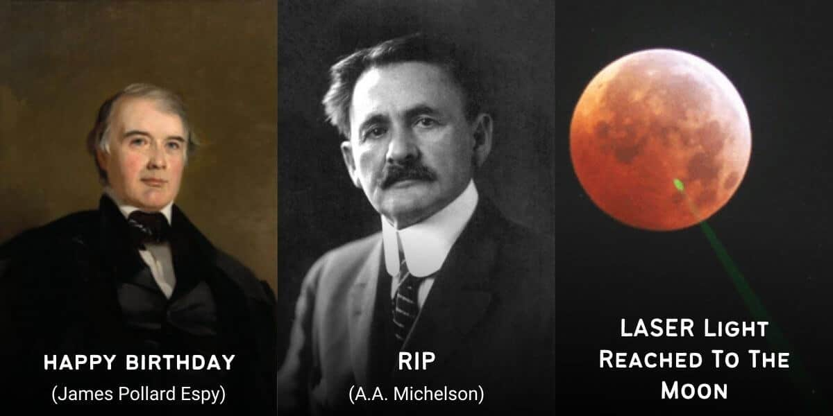 May 9 in Physics History: Birthdays, Deaths & Discoveries