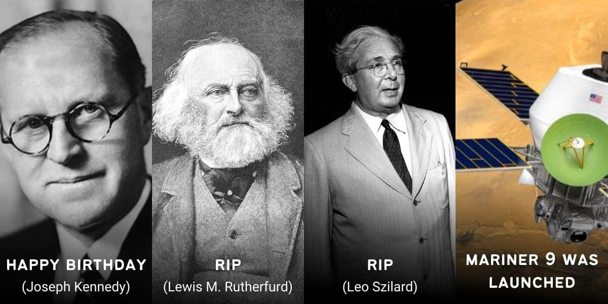 May 30 in Physics History: Birthdays, Deaths & Discoveries