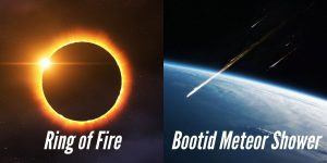 Astronomical Events of June 2021 – Ring of Fire, Bootid Meteor Shower