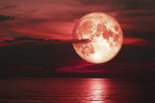 Strawberry Full Moon (Astronomical events of June 2021)