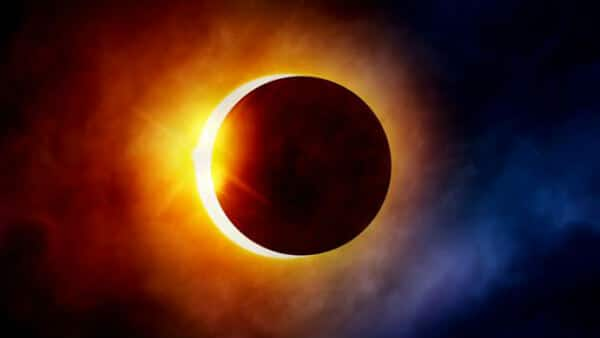 Annular solar eclipse (Aka Ring of Fire) (Astronomical events of june 2021)