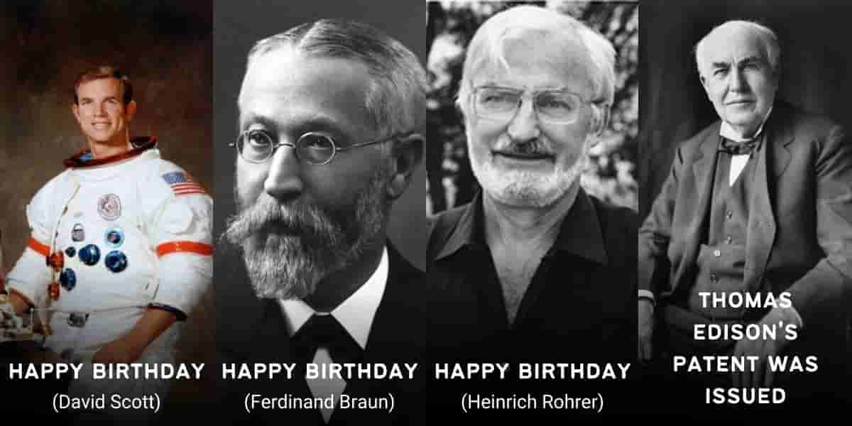 June 6 in Physics History: Birthdays, Deaths & Discoveries