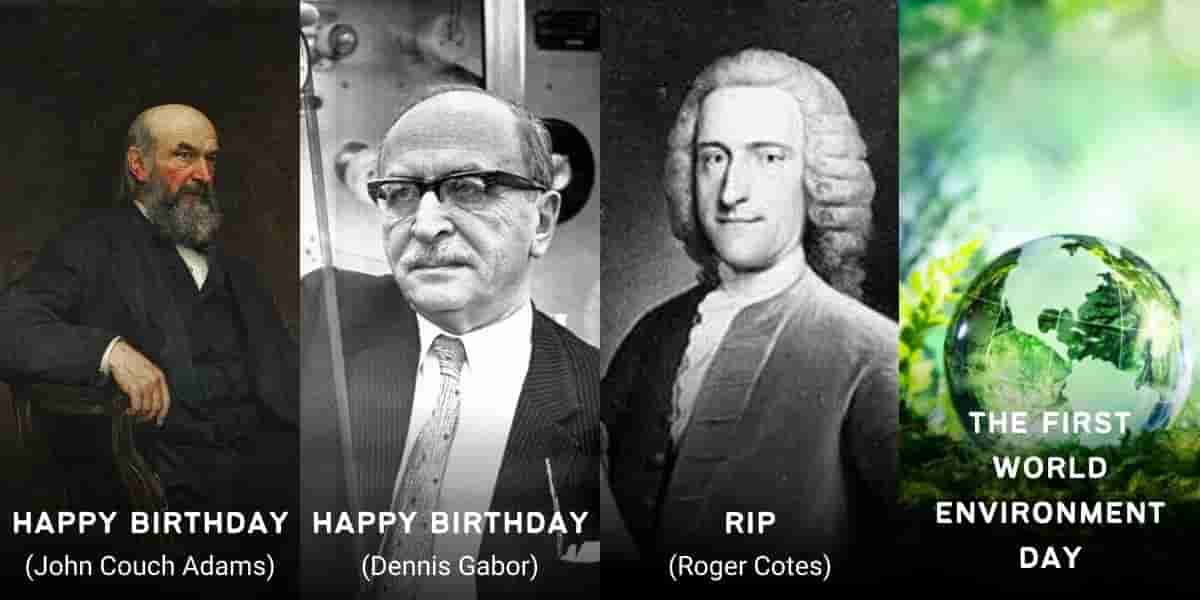June 5 in Physics History: Birthdays, Deaths & Discoveries