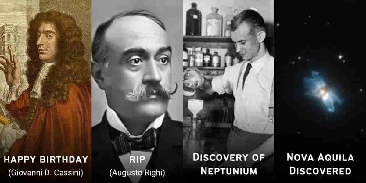 June 8 in Physics History: Birthdays, Deaths & Discoveries