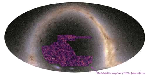 The Brand New Dark Matter Map Published By Astronomers