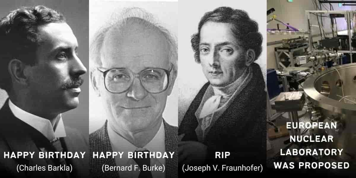June 7 in Physics History: Birthdays, Deaths & Discoveries