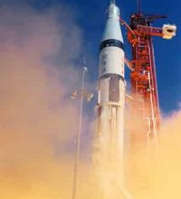 The First Apollo Orbital Mission