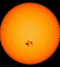 Sunspots (Physics Events on March 9)